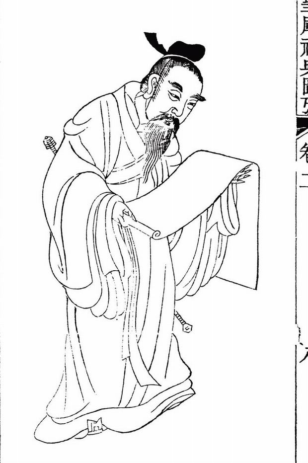 620x932 Travel Photos Of China Confucianism Confucus Sketch, China