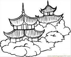 236x189 Chinese Coloring Pages For Kids Cultural Art Projects