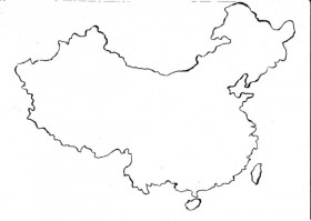 China Map Drawing