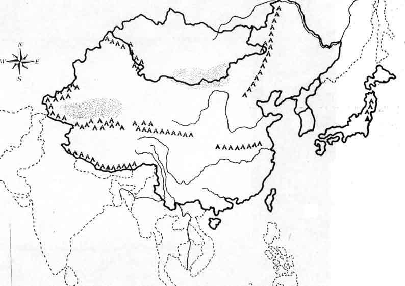 China map drawing at getdrawings free for personal use china 794x561 map of ancient china mrs gilbert39s 6th grade gumiabroncs Images