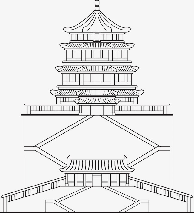 650x714 Linear Palace Of Heavenly Purity, Linear, Palace Of Heavenly