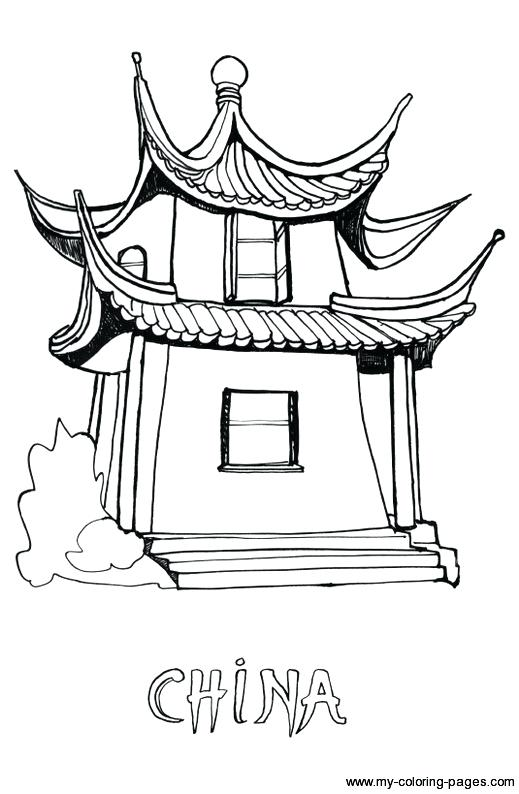 519x794 China Coloring Pages China Coloring Page Pages For Kids Chinese