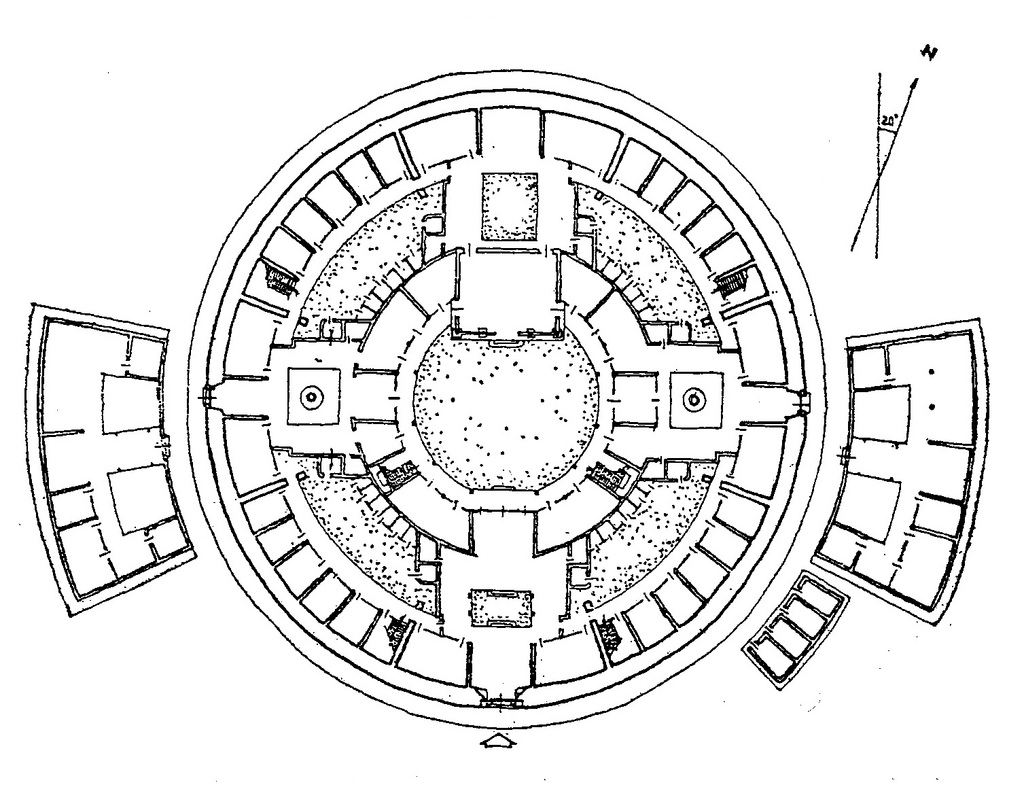 Chinese Building Drawing