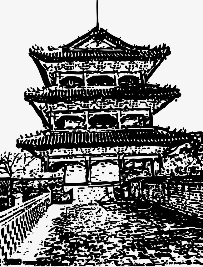 chinese building drawing at getdrawings com free for personal use
