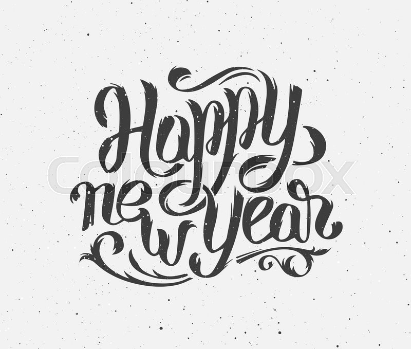 800x679 Happy New Year 2016 Handmade Greeting Card Design. Chinese