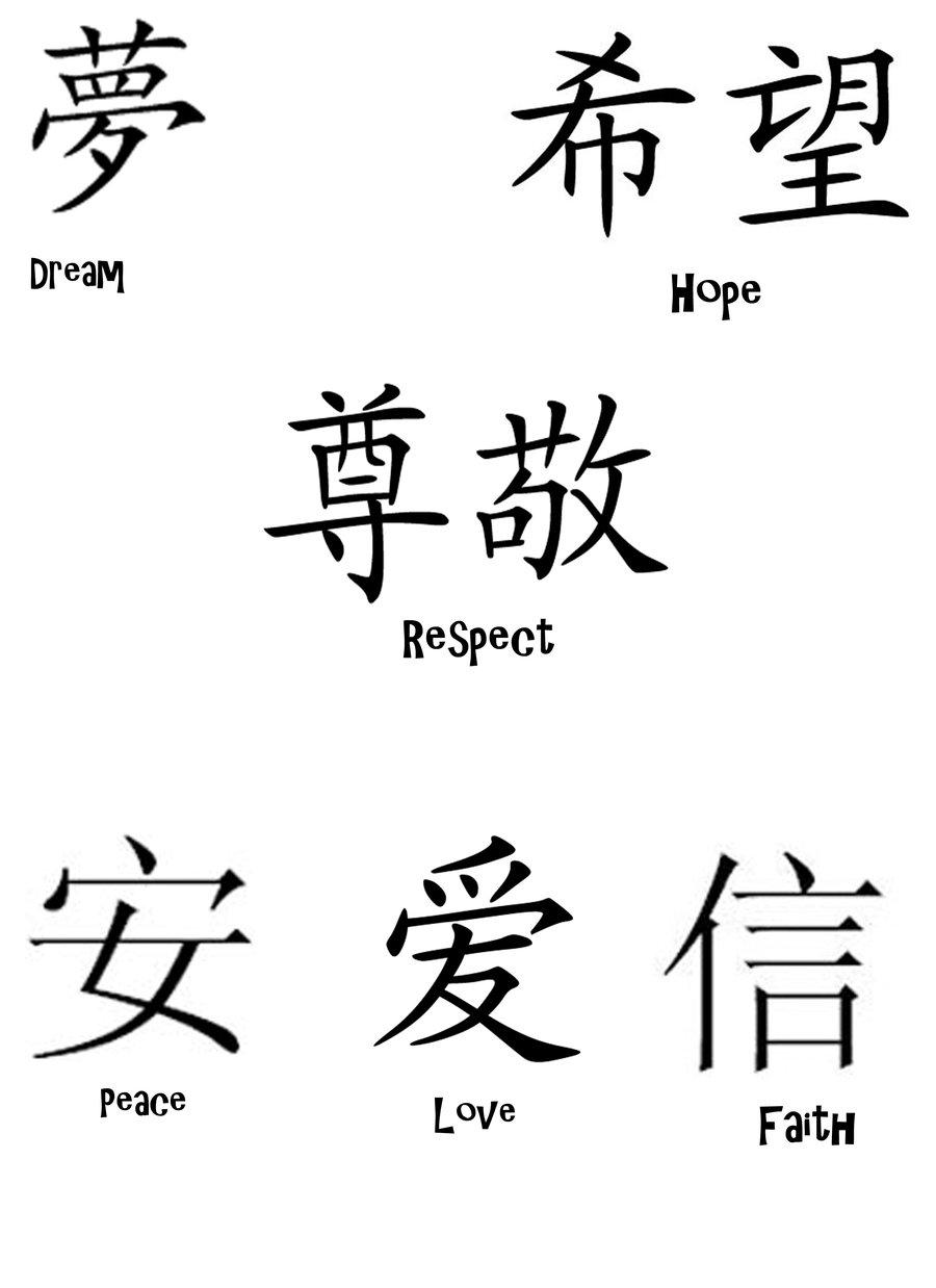 900x1238 Chinese symbols by randomly Insane