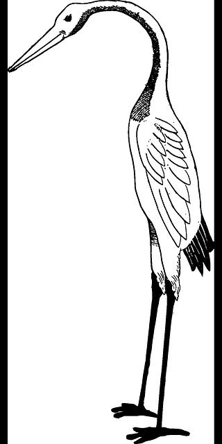 320x640 Bird, Crane, Stork Clipart Idea Bird And Japan Art