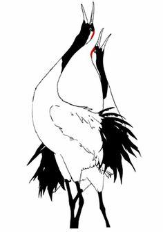 236x334 Watercolor Crane Beautiful Crane Bird Painting (13) Crane