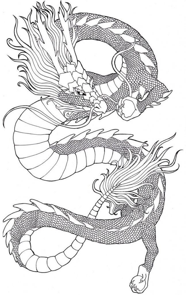 647x1024 How To Draw A Chinese Dragon Chinese Dragon Daemonentatze