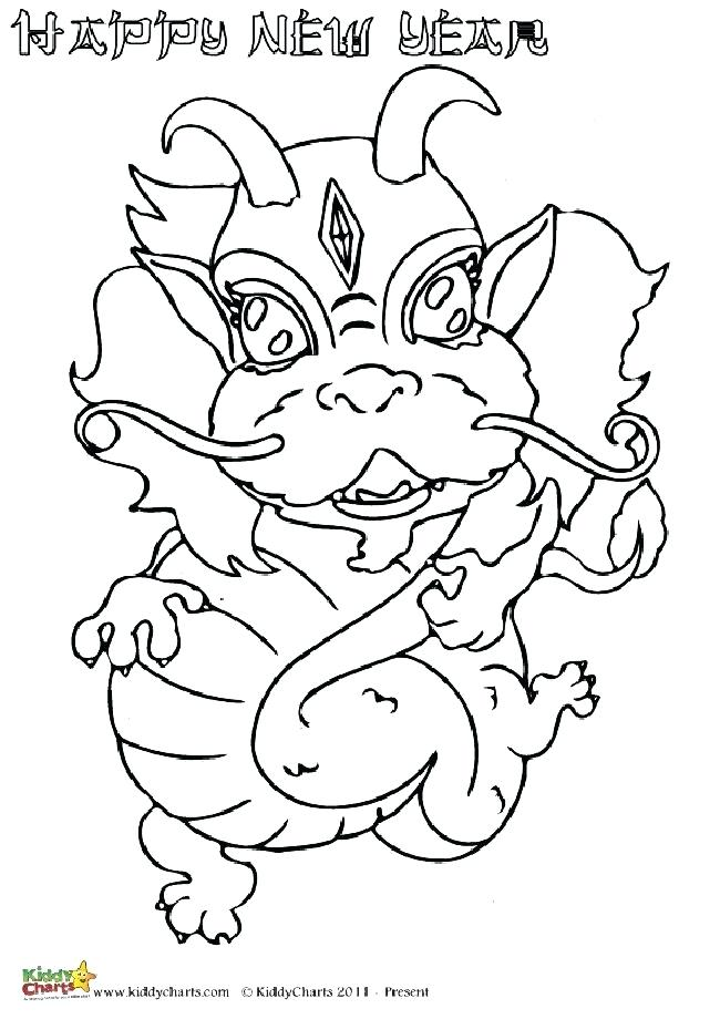 650x920 Chinese Dragon Coloring Pages One Of Four Excellent Dragon