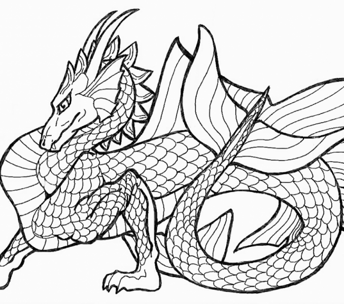 Chinese Dragon Drawing For Kids at GetDrawings.com | Free for ...