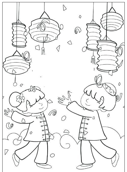 498x674 Chinese New Year Dragon Coloring Pages New Year Dragon Chinese