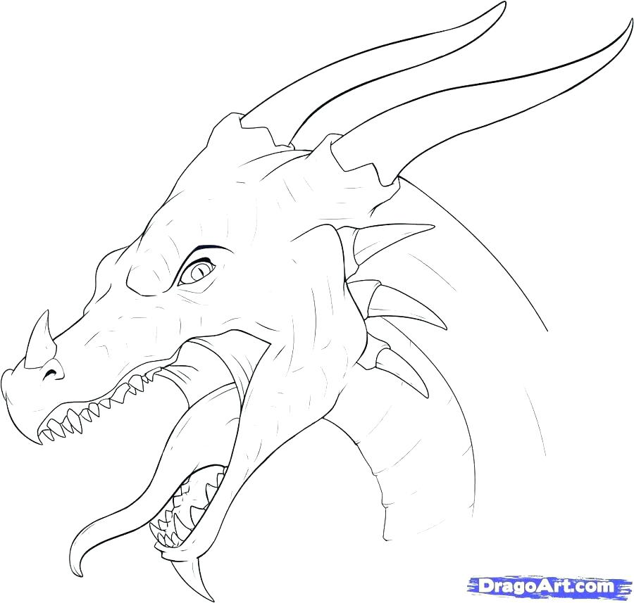 900x857 Dragon Head Coloring Page China Coloring Pages Dragon Head