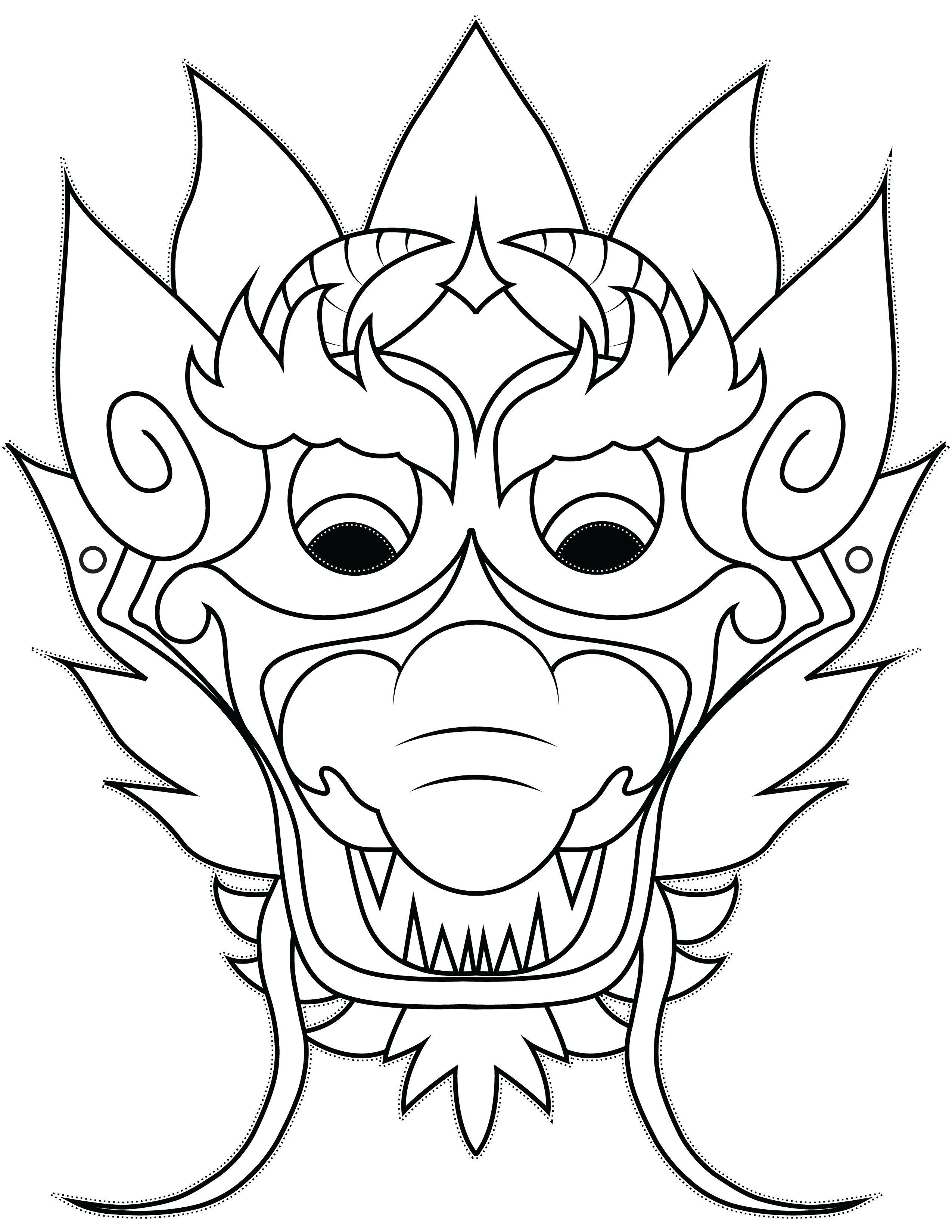 2550x3300 Dragon Mask