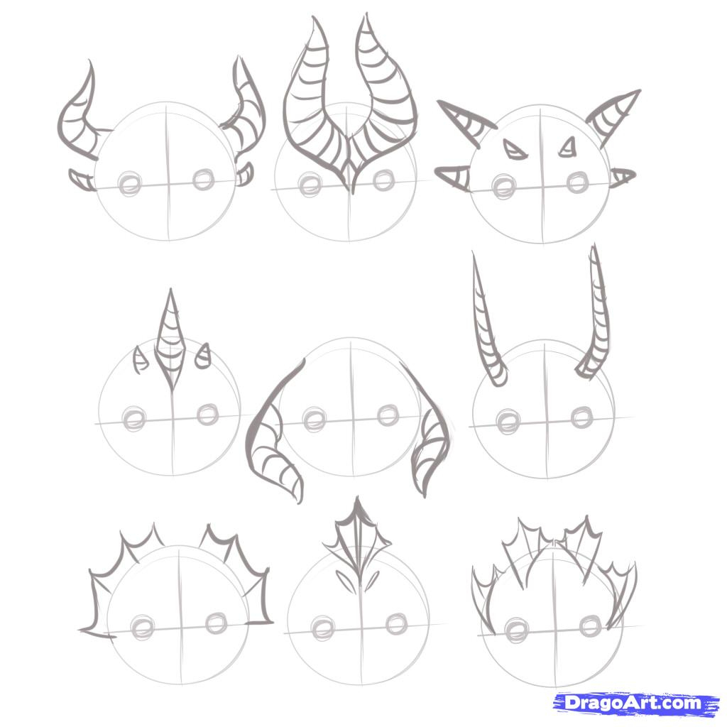 1024x1024 How To Draw A Chinese Dragon Head Step By Step Easy Archives