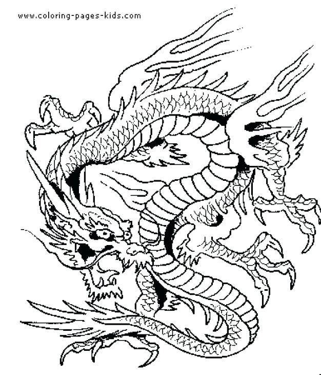 626x730 Chinese Dragon Coloring Pages Dragon Coloring Page Coloring Page