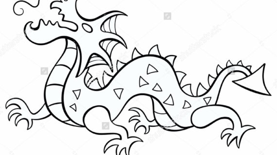 570x320 Chinese New Year Dragon Drawing Chinese Dragon Head Pattern