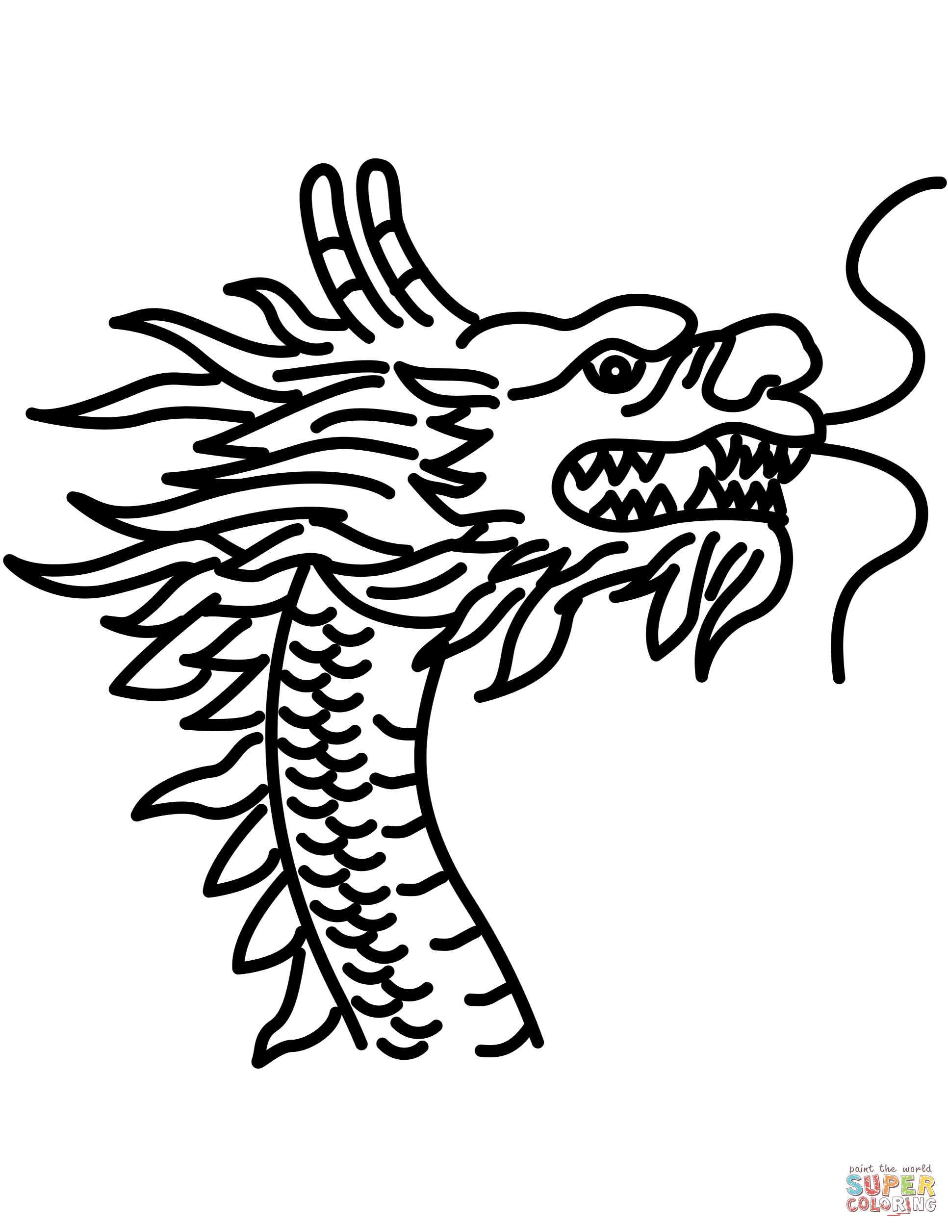 Chinese Dragon Drawing Tutorial At GetDrawings
