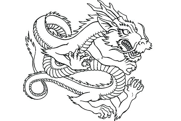 600x403 Dragon Head Coloring Page Dragon Head Coloring Page Dragon Head