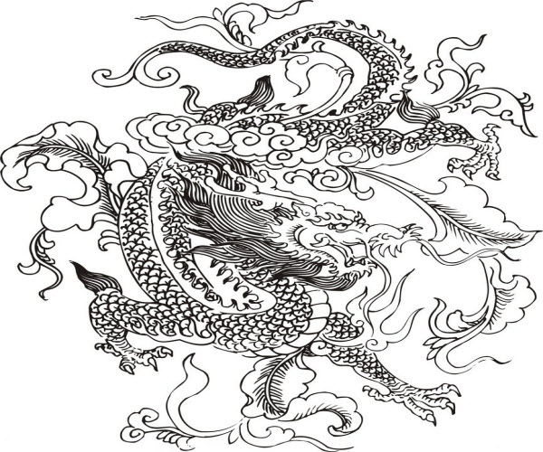 600x500 Pretty Cool Chinese Dragon Chinese Dragons Chinese
