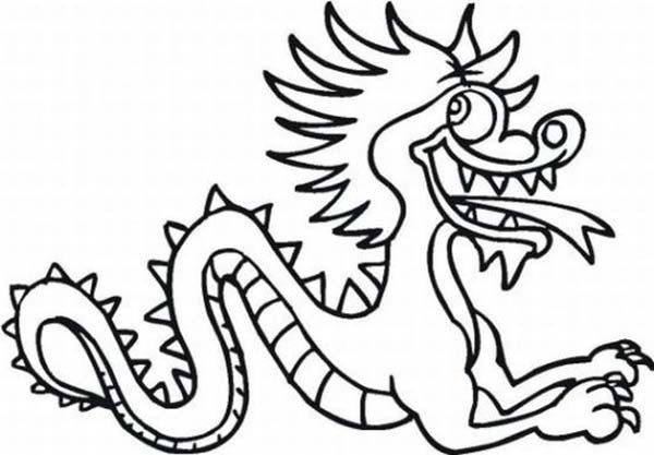 600x417 Chinese New Year Dragon Drawing – Merry Christmas And Happy New