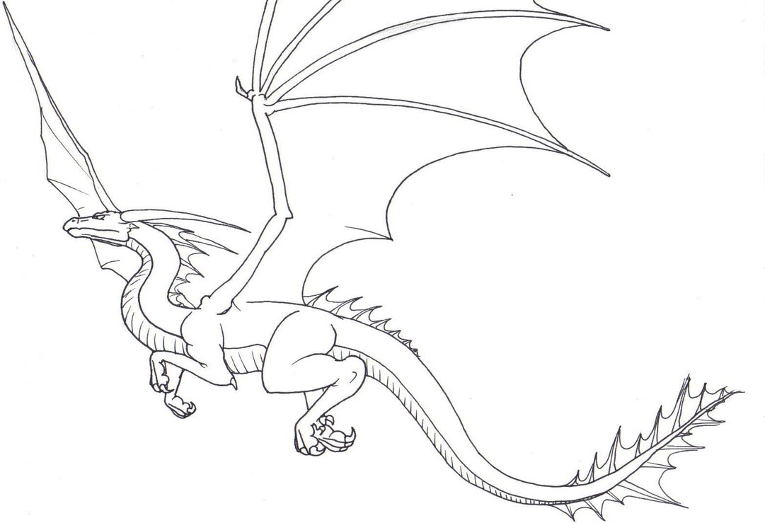 1081x739 FlyingDragon by ChiroOokami on DeviantArt