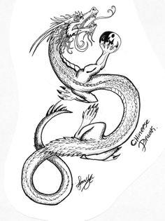 236x315 dragon sketch anniemsson deviantART Dragons Pinterest Dragon