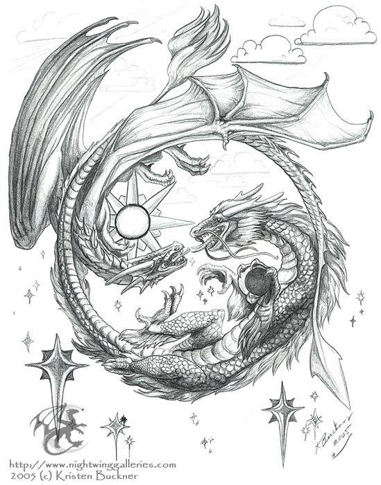 Chinese Dragon Tattoo Drawing At Getdrawings Free For Personal