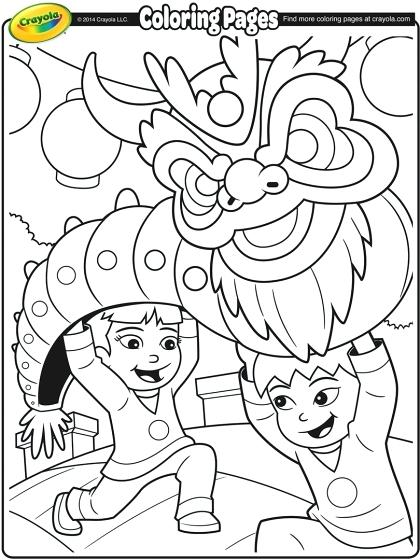 420x560 Chinese New Year Dragon Coloring Pages New Year Dragon Chinese