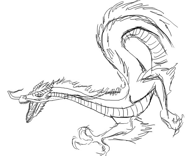 600x505 Chinese Dragon Concept By Inframundo