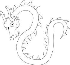 234x216 Simple And Perfect Dragon Drawing Campp Painting Ideas