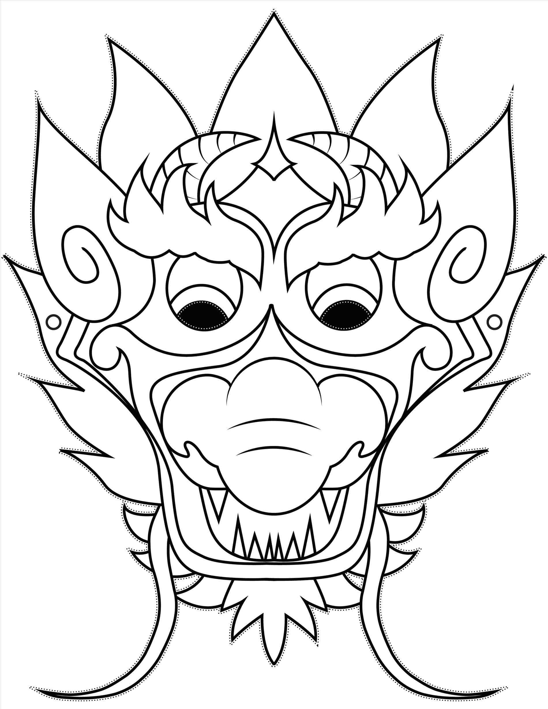 1900x2458 How To Draw Dragons Face