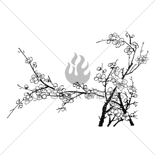 500x500 Chinese Painting Gl Stock Images