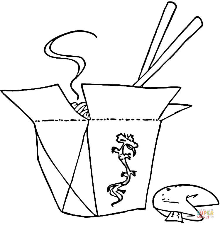Chinese Food Drawing At Getdrawings Com Free For Personal Use