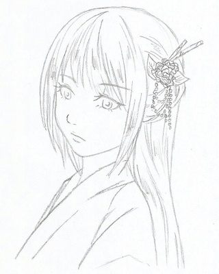 320x400 Chinesegirl Drawings On Paigeeworld. Pictures Of Chinesegirl