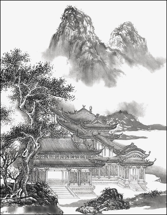 650x836 Chinese Landscape, Ink, Landscape, Scenery Png Image For Free Download