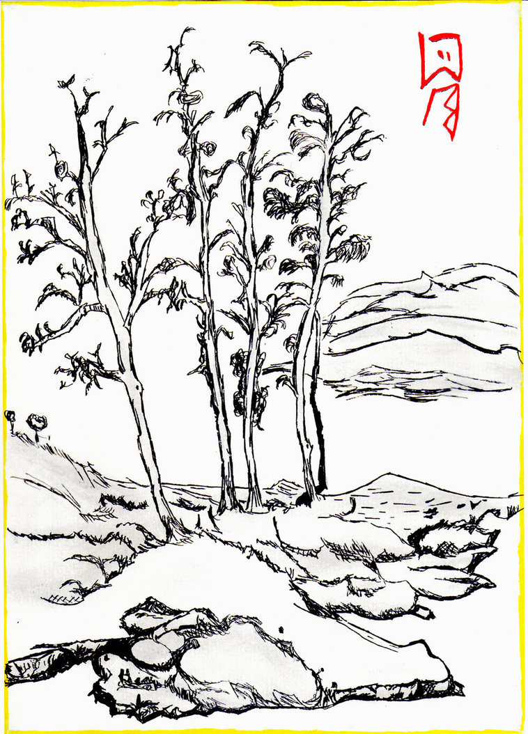 758x1054 Chinese Landscape By Scientistron