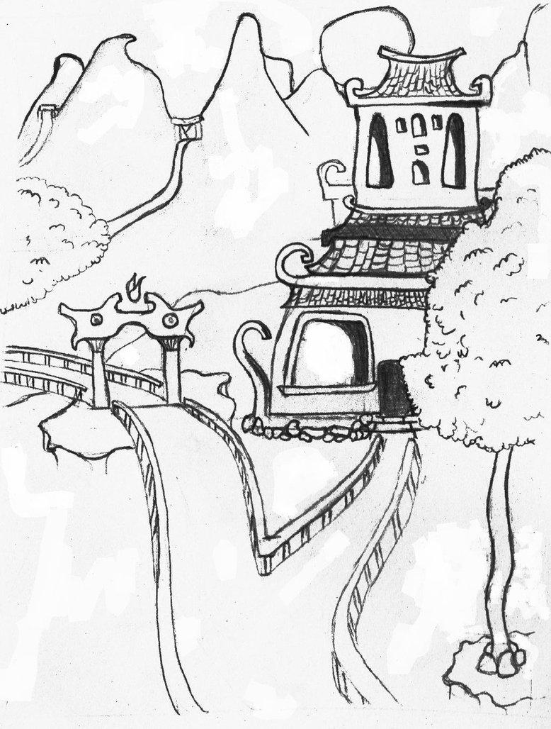 778x1028 Landscape Sketching