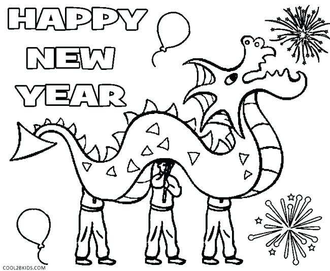 650x535 Free Chinese Zodiac Coloring Sheets Printable New Year Pages For