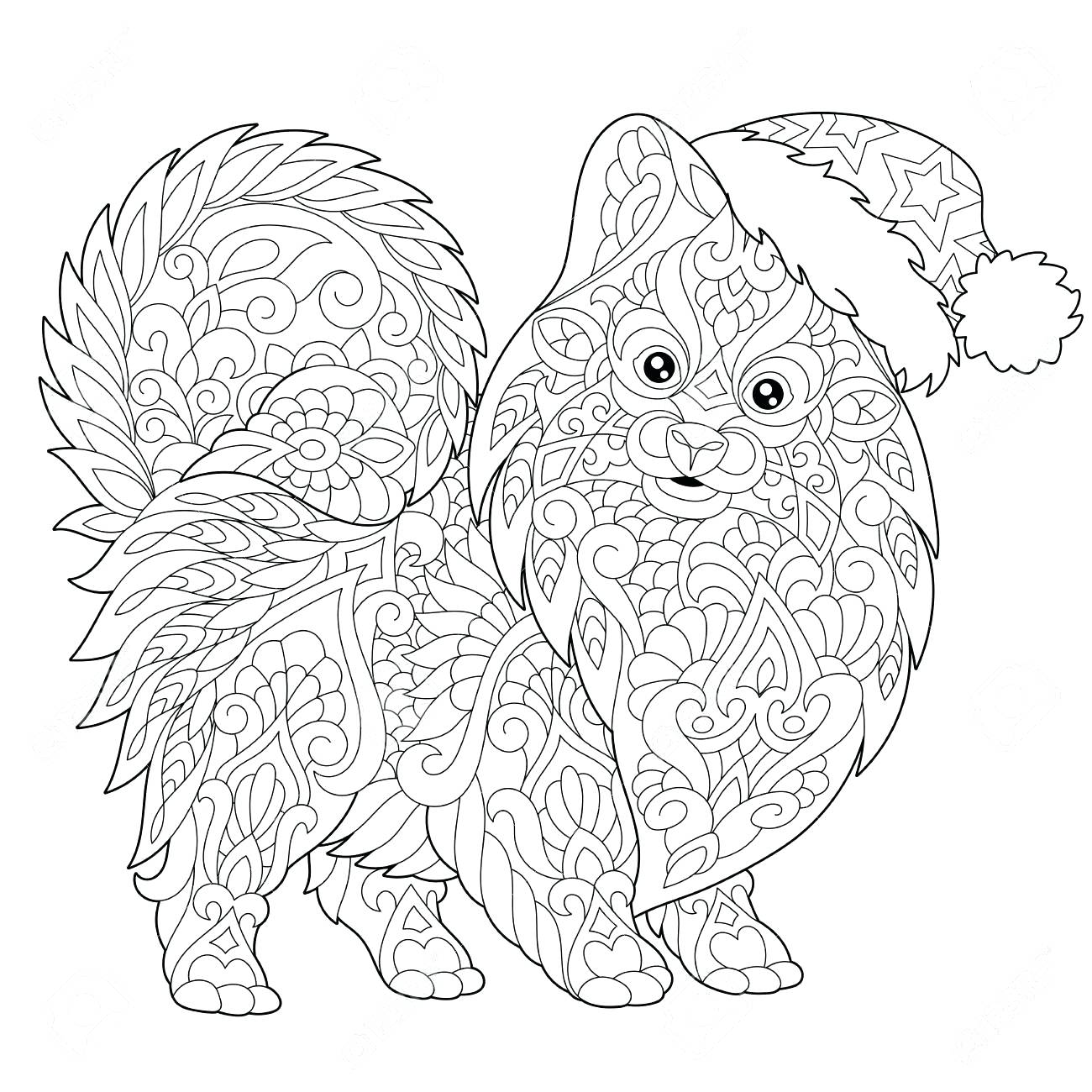1300x1300 Coloring Coloring Chinese New Year Page Of Dog Symbol Freehand