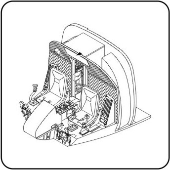 344x344 Boeing Ch47 Chinook Interior Set (Italeri)