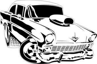 340x224 Airbrush Stencils For Cars Full Size Toonrod Stencil 1 Toon Rod
