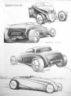 236x320 Hrdp 9808 02 O 1950s Shoebox Concept Drawings 1953 Chrysler