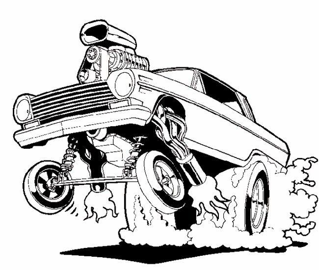 Chip Foose Cars Drawing