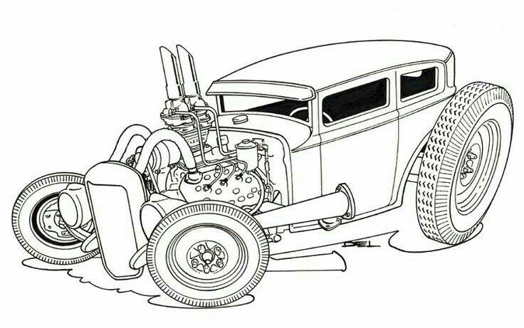 Chip Foose Drawing At Getdrawings Com