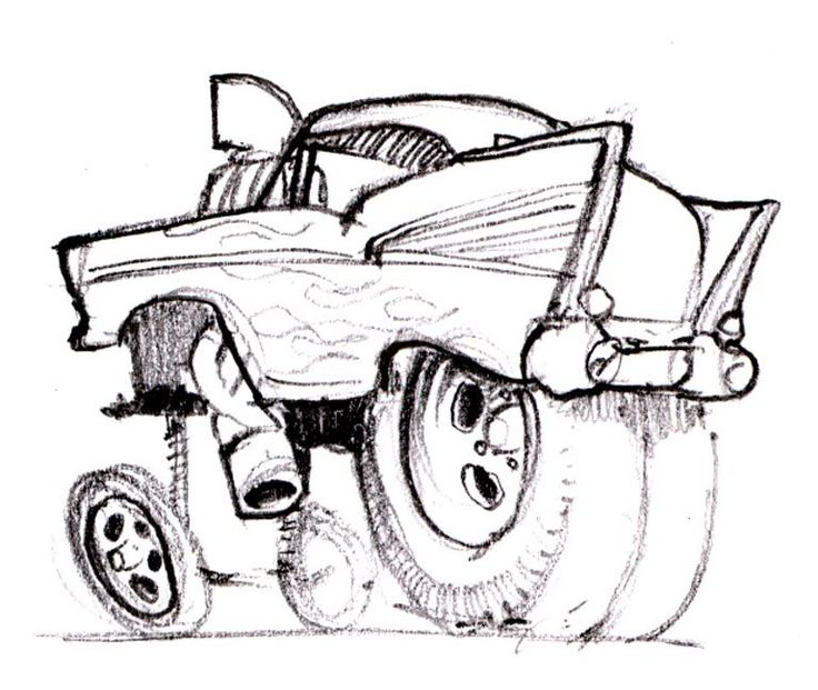 Chip Foose Drawing Book