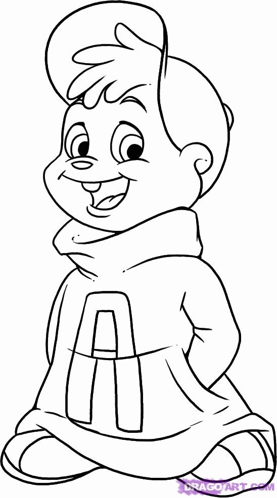 Chipmunk Drawing at GetDrawings.com | Free for personal use Chipmunk ...