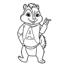 Chipmunks Drawing at GetDrawings.com   Free for personal use ...