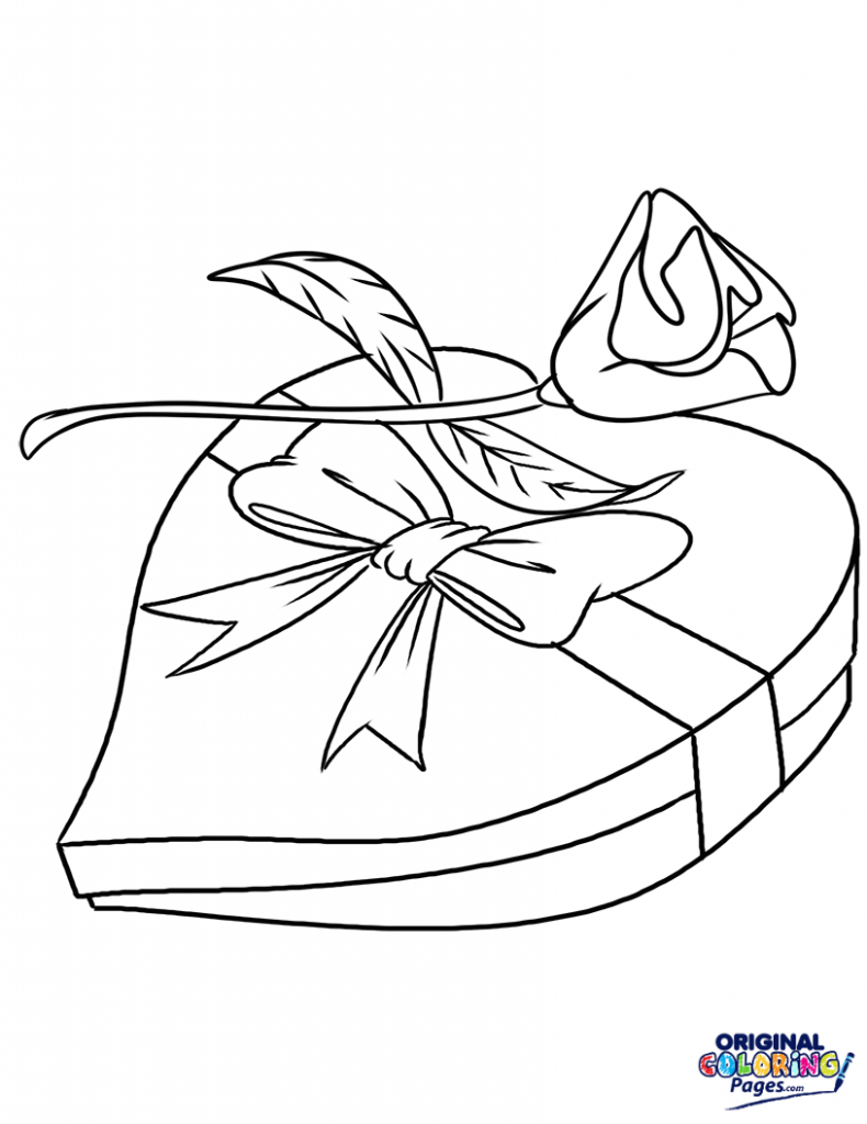 Chocolate Box Drawing at GetDrawings.com | Free for personal use ...