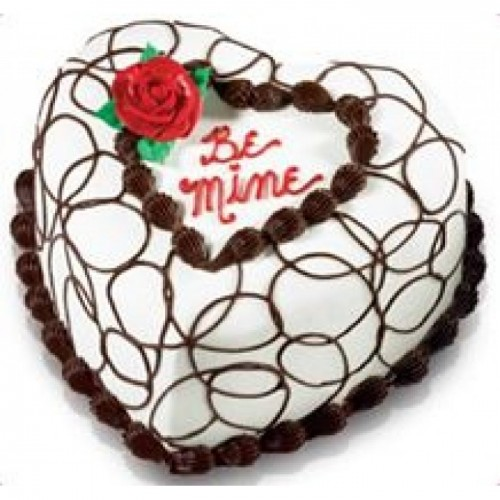 500x500 Be Mine Cake I Dhanbad Online Cake Delivery Shop